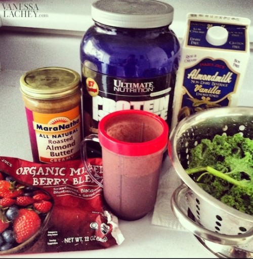 Mood Boosting Berry Powerful Smoothie