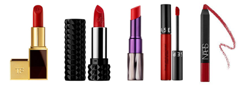 Vanessa Lachey's favorite red lipsticks