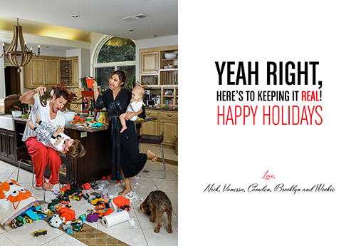 Throwback Thursday: The 2015 Lachey Family Holiday Card