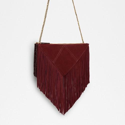 Zara Fringed Messenger Bag